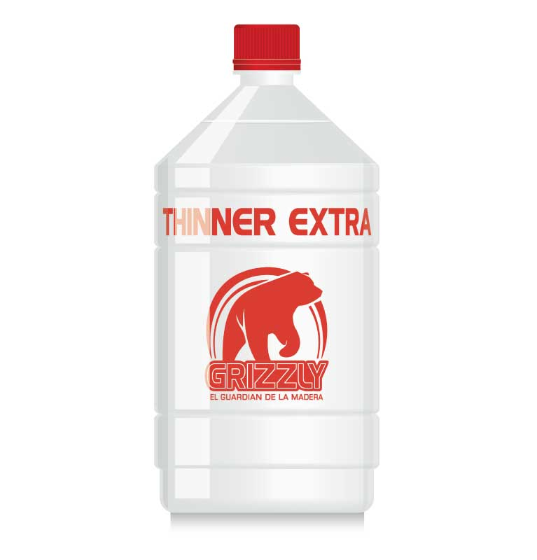 Thinner extra 200 litros